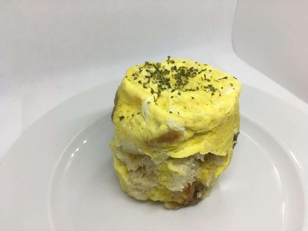 mikrós bundáskenyeres tojás